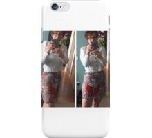 Donna Looks Fabulous in Love Bombed Pencil Skirt iPhone Case/Skin
