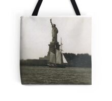 The Dutch arrive in New Amsterdam Tote Bag