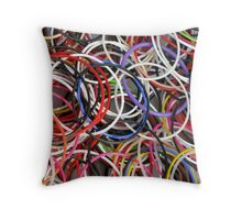 COLORS OF JOY Throw Pillow