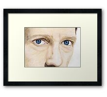 'House' - Hugh Laurie Framed Print
