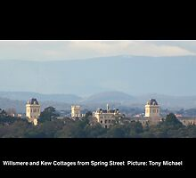 WIllsmere Towers and Kew Cottages from Spring Street, Calendar Edition by 4Kew