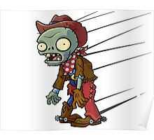 Planet vs Zombies Shirt Poster