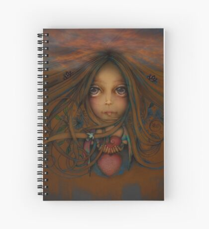 Heart of the Earth Spiral Notebook