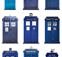TARDIS Typology by sophiecowdrey