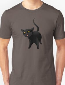 Black cat Unisex T-Shirt