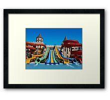 Sunny Beach Water Park, BULGARIA Framed Print
