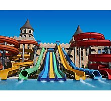 Sunny Beach Water Park, BULGARIA Photographic Print