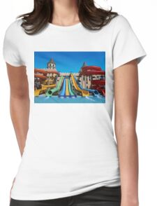 Sunny Beach Water Park, BULGARIA Womens Fitted T-Shirt