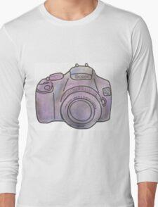 Pastel Camera Long Sleeve T-Shirt