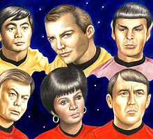 To boldly go......Star Trek.....the originals by Margaret Sanderson