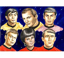 To boldly go......Star Trek.....the originals Photographic Print