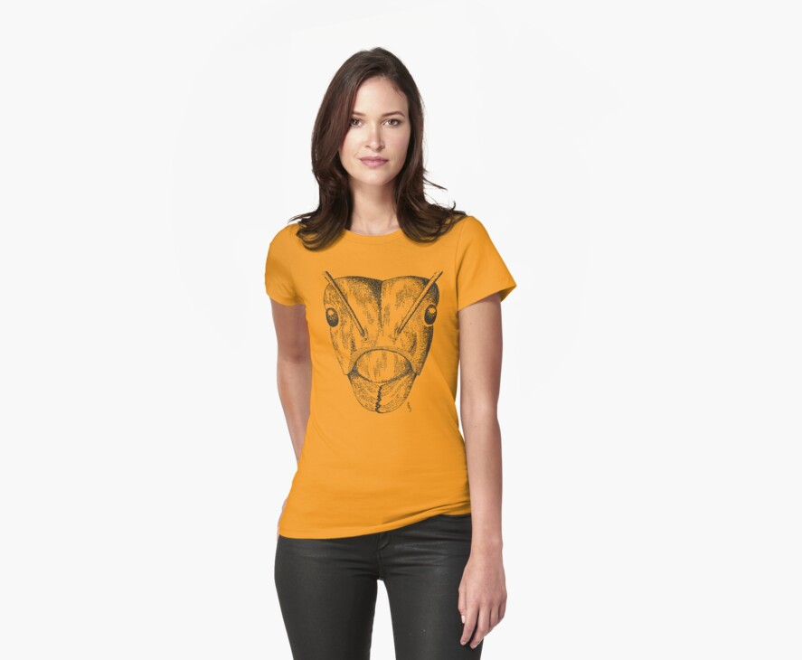 Ant Portrait Tee by Pete Janes