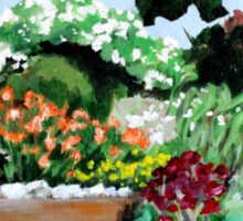 Plein Air in the Garden Sticker