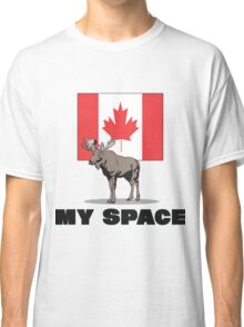 """Canada """"MY SPACE"""" Classic T-Shirt"""