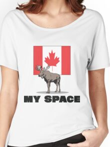 """Canada """"MY SPACE"""" Women's Relaxed Fit T-Shirt"""
