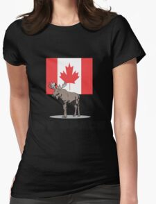 """Canada """"MY SPACE"""" Womens Fitted T-Shirt"""