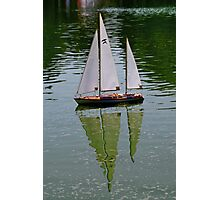 Sailing away Photographic Print