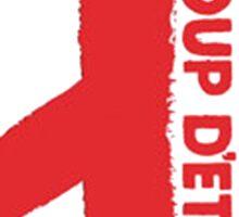 G-Dragon Coup D'Etat 1 Sticker