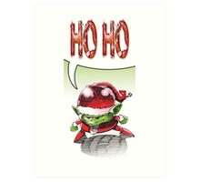 Ho Ho Art Print