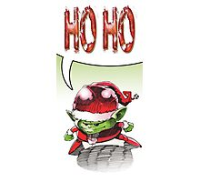 Ho Ho Photographic Print