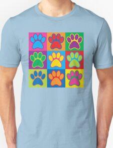 Pop Art Paws Unisex T-Shirt