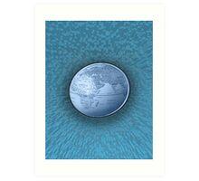 World On Ice Art Print