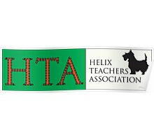 Helix Teachers Association Logo(HTA logo) Poster