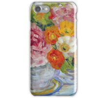 Peonies and Poppies Still Life  iPhone Case/Skin