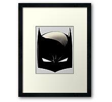 Modern Bat Cowl Framed Print