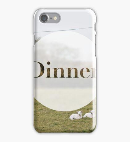 Dinner. iPhone Case/Skin