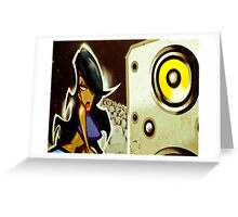 """""""Groove Thang"""" Greeting Card"""