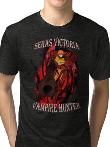 Seras Victoria Vampire Hunter Tri-blend T-Shirt