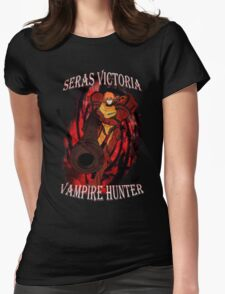 Seras Victoria Vampire Hunter Womens Fitted T-Shirt