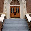 First United Methodist Church in Hillsboro, Texas by Susan Russell