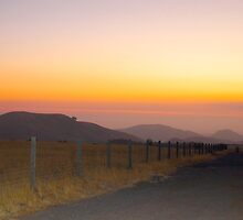 Cambria sunset by Ron  Hanson