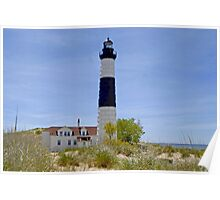 Big Sable Point Poster
