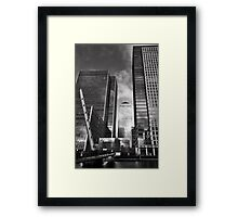 An Eighties Icon of London Money Framed Print