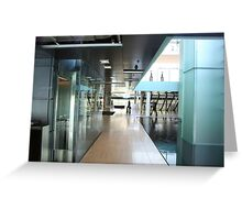 Corporate Interior in Copenhagen, Denmark Greeting Card