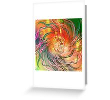 Electricity. Greeting Card