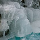 Ice formations at Johnston Canyon by Ron  Hanson