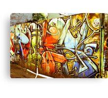 Gates of Graffiti Canvas Print