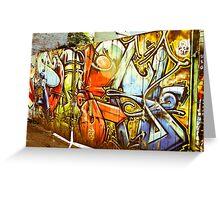 Gates of Graffiti Greeting Card