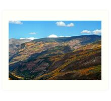 Redstone Valley Colors (3) Art Print