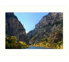 Glenwood Valley, Colorado Art Print