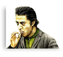 Dustin Hoffman plays Enrico Salvatore Rizzo. 'Ratso' from Midnight Cowboy Canvas Print