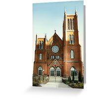 St Mary's Roman Catholic Church Greeting Card