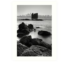 Seascape from Azores islands Art Print