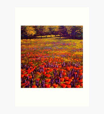 Sonoma Spring Meadow Art Print