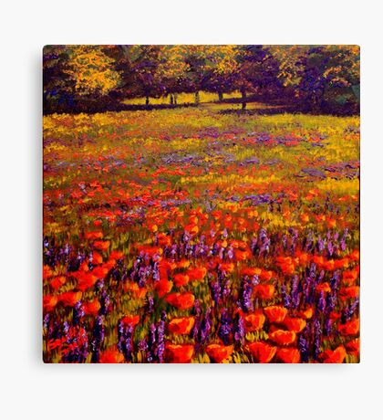 Sonoma Spring Meadow Canvas Print