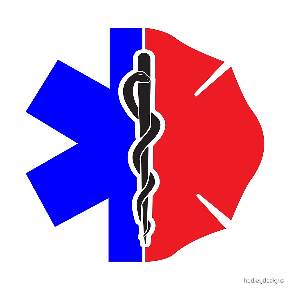 Amr Paramedic Emt Firefighter Symbol Emergency Er T Shirt By